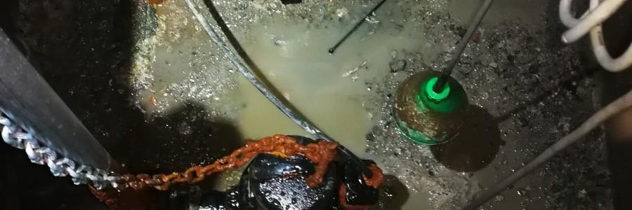 Limpieza y mantenimiento de fosos de bombas, separadores de grasas é hidrocarburos en Toledo