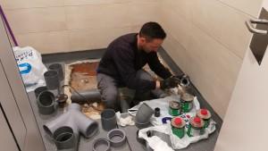 trabajos de fontanería en Madrid